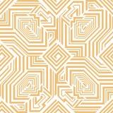 Картина исламского стиля безшовная с восьмиугольниками и labyrint иллюстрация штока