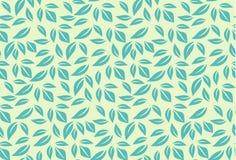 картина листьев безшовная Стоковое Изображение RF