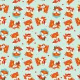 картина лисы падения шаржа Стоковая Фотография RF