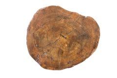 Картина и отказы коричневой трудной древесины Стоковые Фото