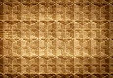 Картина и текстура Брайна деревянные от геометрического Стоковая Фотография