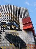 Картина и цвета фасада здания Стоковые Фотографии RF