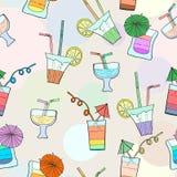 Картина иллюстрации вектора коктеиля Стоковые Фотографии RF