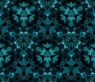 Картина калейдоскопа безшовная, предпосылка, состоя из абстрактных форм Стоковое фото RF