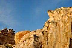 Картина камня гранита выветривания Стоковое Изображение RF