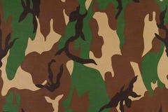 Картина камуфлирования на ткани Стоковое Изображение RF
