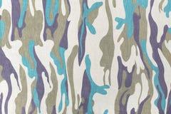 Картина камуфлирования для текстуры и предпосылки Стоковая Фотография