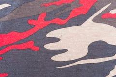 Картина камуфлирования для текстуры и предпосылки Стоковое Изображение RF