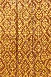 картина картины золота двери искусства тайская Стоковые Фотографии RF