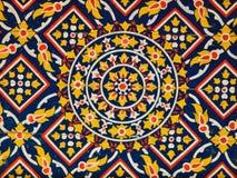 картина картины стародедовского потолка флористическая Стоковое фото RF