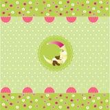 картина карточки младенца безшовная бесплатная иллюстрация