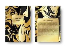 Картина карточки мраморная Стоковые Фотографии RF