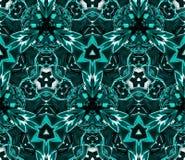 Картина калейдоскопа абстрактная безшовная Стоковая Фотография