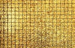 Картина квадрата блока золота безшовная Стоковые Изображения