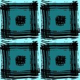 Картина квадратов бирюзы Стоковые Фотографии RF
