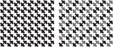 Картина квадратов плавно repeatable в черно-белом вектор иллюстрация вектора
