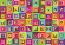 Картина квадратов Стоковое фото RF