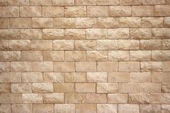 Картина кирпичная стена бежевого цвета стоковое фото