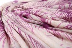 Картина китайского стиля сделанная из шарфов ткани Стоковое Фото