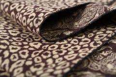 Картина китайского стиля сделанная из шарфов ткани Стоковые Фото