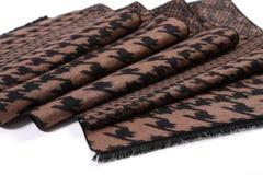 Картина китайского стиля сделанная из шарфов ткани Стоковые Фотографии RF