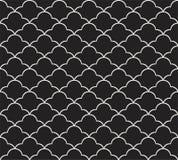 Картина классического стиля Арт Деко безшовная геометрический орнамент стильный Текстура антиквариата вектора бесплатная иллюстрация