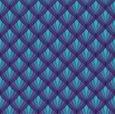 Картина классического стиля Арт Деко безшовная геометрический орнамент стильный Текстура антиквариата вектора иллюстрация вектора