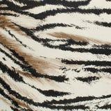 Картина кожи тигра искусственная Стоковое Изображение