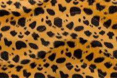 Картина кожи тигра крупного плана искусственная Стоковые Изображения