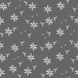 Картина колибри и цветков безшовная Стоковая Фотография