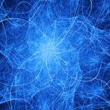 Картина конспекта голубая хаотическая текстурированная бесплатная иллюстрация