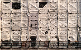 картина конструкции здания вниз Стоковое Изображение RF