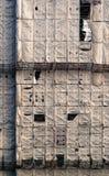 картина конструкции здания вниз Стоковые Изображения