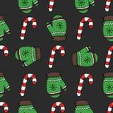 Картина конфеты рождества Стоковая Фотография