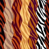 Картина коричневого цвета конспекта животная экзотическая в стиле заплатки бесплатная иллюстрация