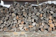 Картина коричневой деревянной текстуры предпосылки журнала Стоковое Изображение RF
