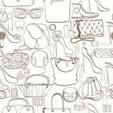 Картина косметики моды Стоковые Фото