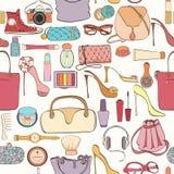 Картина косметики моды Стоковые Фотографии RF