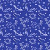 Картина космоса шаржа безшовная astrix наука бесплатная иллюстрация