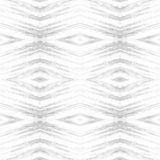Картина косоугольника абстрактная племенная безшовная самомоднейшая текстура Повторять геометрические плитки Печать текстильной т Стоковая Фотография