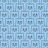 Картина котов Стоковая Фотография