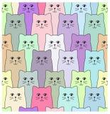 Картина котов Стоковая Фотография RF
