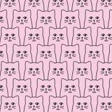 Картина котов Стоковые Фотографии RF