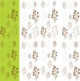 Картина кофейных зерен Стоковые Изображения RF