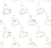 Картина кофе светлая иллюстрация штока