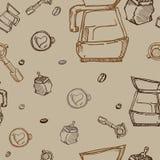 Картина кофе Стоковое Изображение