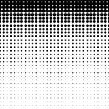 Картина красивой безшовной белизны поставленная точки на черной предпосылке Бесплатная Иллюстрация