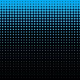 Картина красивой безшовной сини aqua поставленная точки Стоковое фото RF