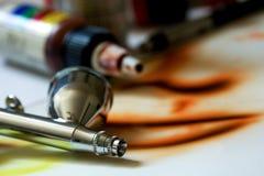 картина краски airbrush Стоковое Изображение