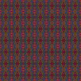 Картина красного, голубого & розового яркого блеска безшовная Стоковые Изображения RF